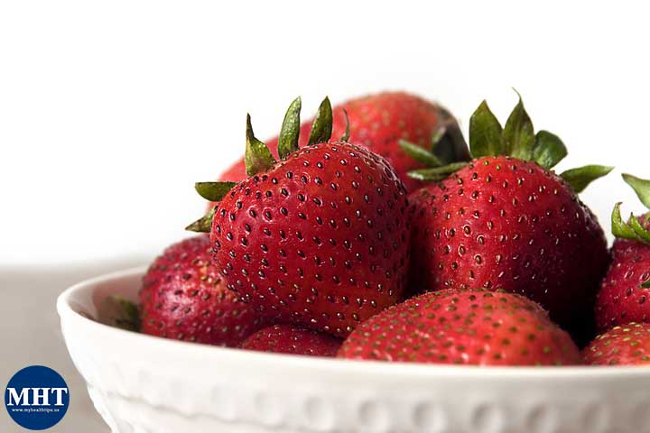 strawberries-fruits-mushroom-hair-growth-food