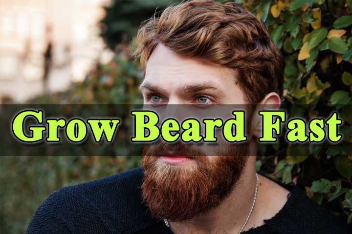 How to Grow Beard Faster and Naturally – My Health Tips