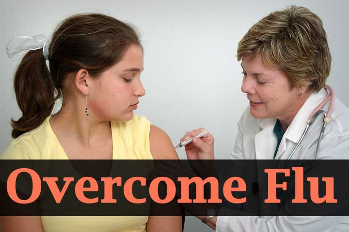 How to Overcome Flu Naturally using Home Remedies
