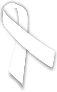 mesothelioma awareness ribbon