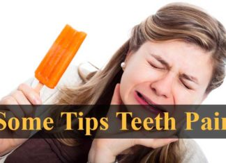 Some Basic tips for Teeth Pain