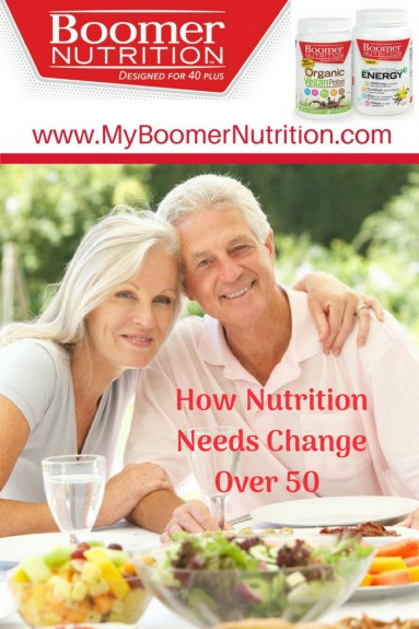 How Nutrition Needs Change Over 50
