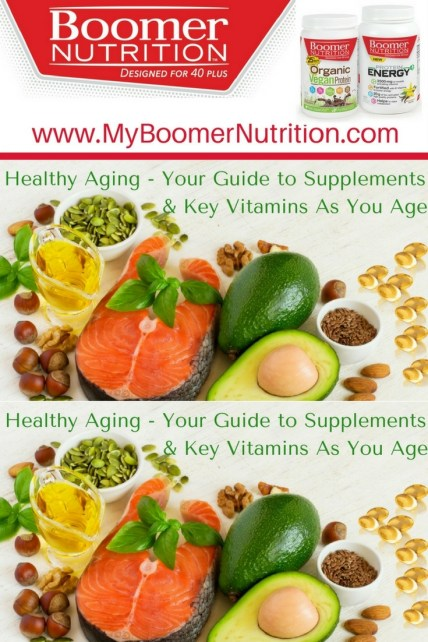Key Supplements and vitamins for healthy aging