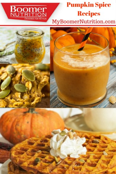 Pumpkin Spice Protein Recipes with Boomer Nutrition