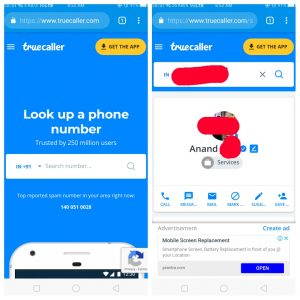 Truecaller Number Search Online Without App