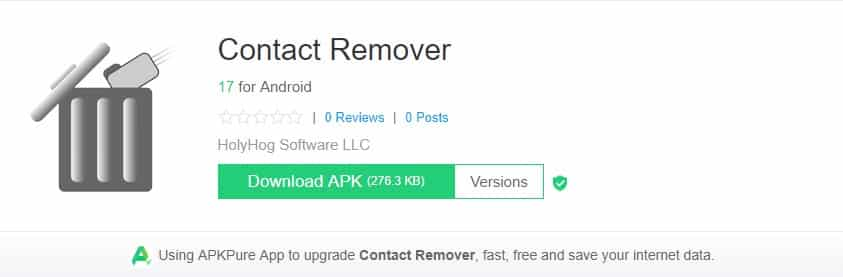 Contact Remover