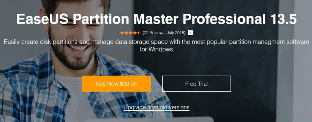 Using EaseUS Partition Master