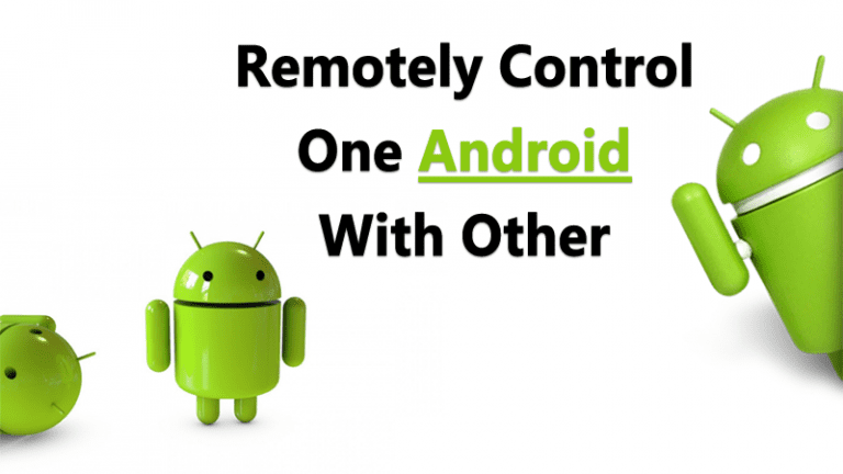 Control One Android With Another