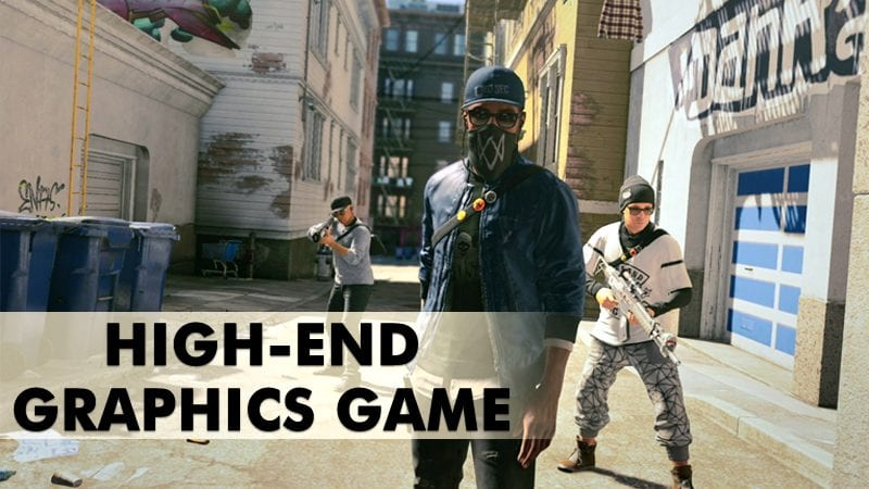 Best High-End Graphics Games for pc 2020