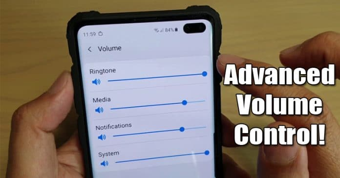 How To Get Advanced Volume Control On Android