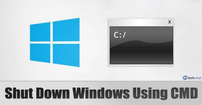 How To Shut Down Windows 10 Using Command Prompt